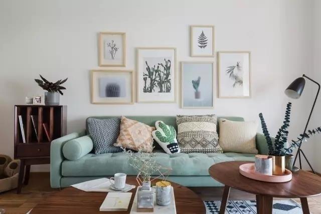 124平簡約風格三居室 ? ????,大愛這個色調! ????