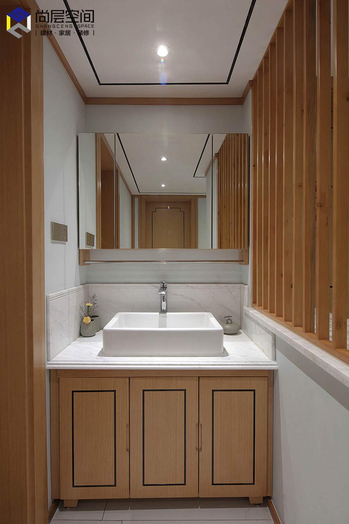 原木+新中式,這就是極具美感的家