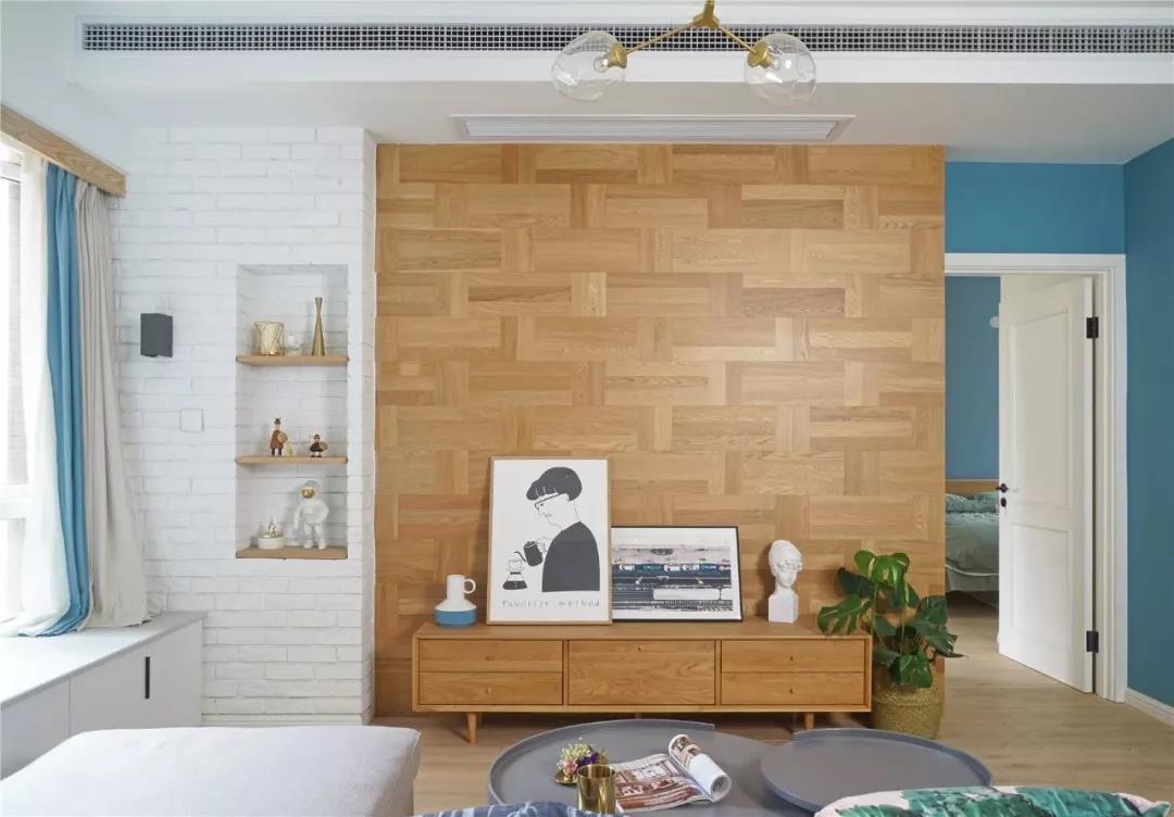 尚层空间装修案例:85m²轻奢简欧风格,颜值简直逆天!
