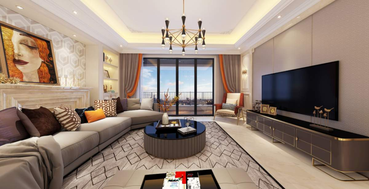 尚层空间精选-新市区神华城120m²现代简约 | 混搭新万博manbetx体育app下载设计