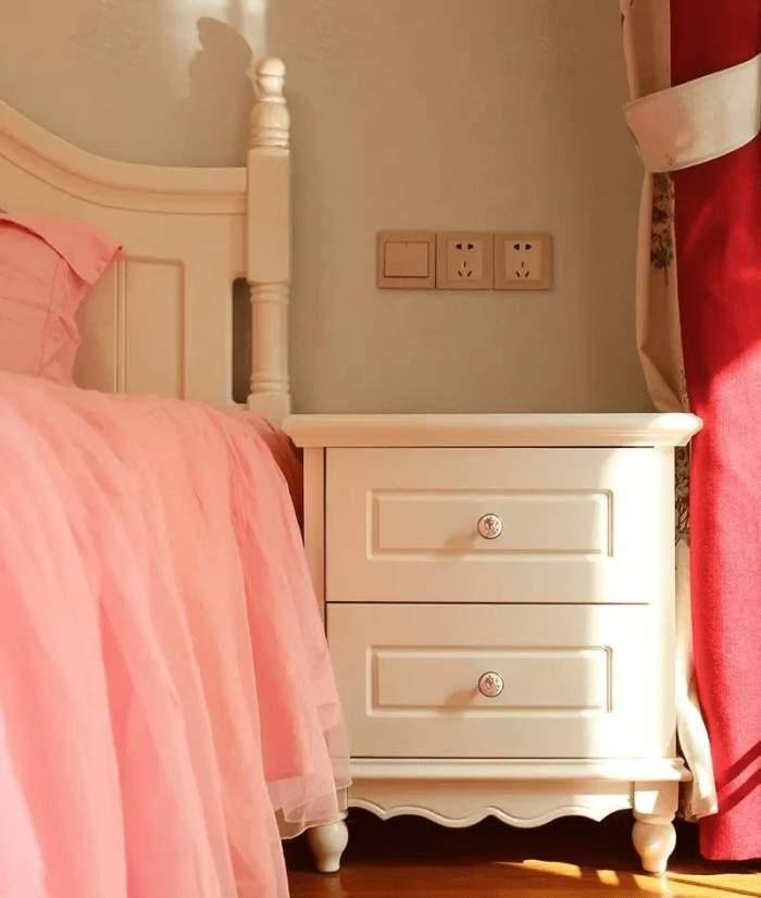 米東區藍光湖畔97㎡婚房,美的不像實景(尚層空間出品)