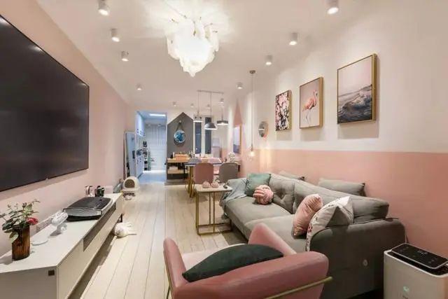 尚層空間60㎡小戶型,客廳臥室全開放,榻榻米高低床,比多一間房還實用