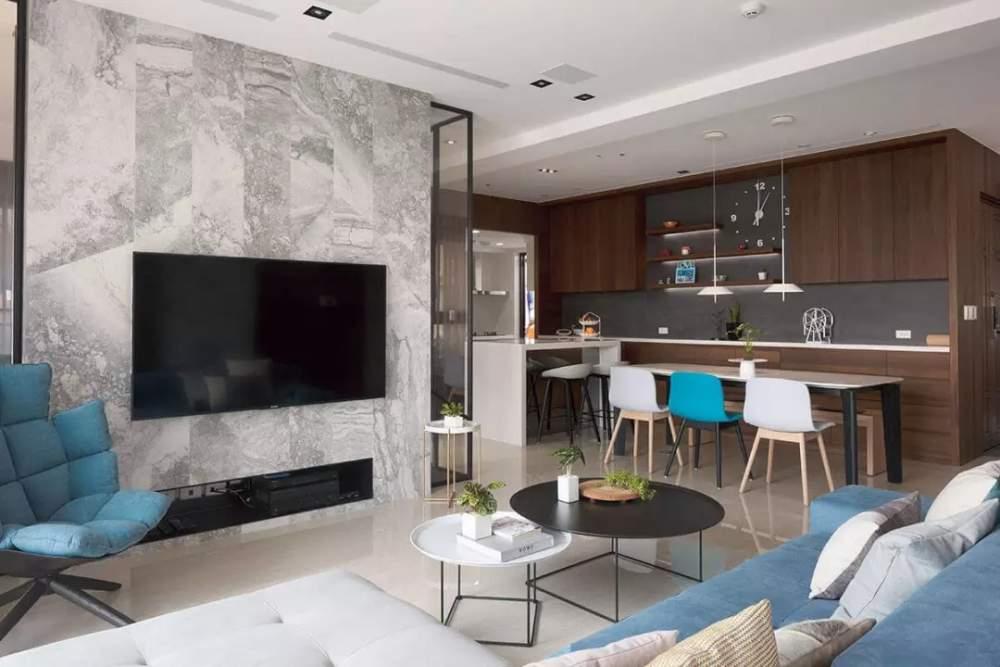 尚層空間160㎡現代風三居室,雅致端莊