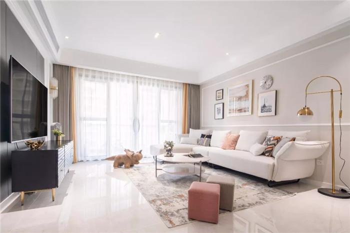 尚層空間· 新市區福泰雅居三居室·122㎡ ·輕美式