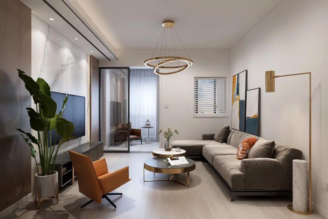 尚層空間|整裝案例丨90㎡華潤翡翠城現代風三居室