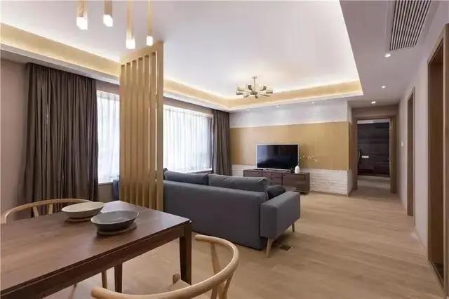 尚層空間 廣匯香緹雅境130㎡日式三居,木質造就舒適自然