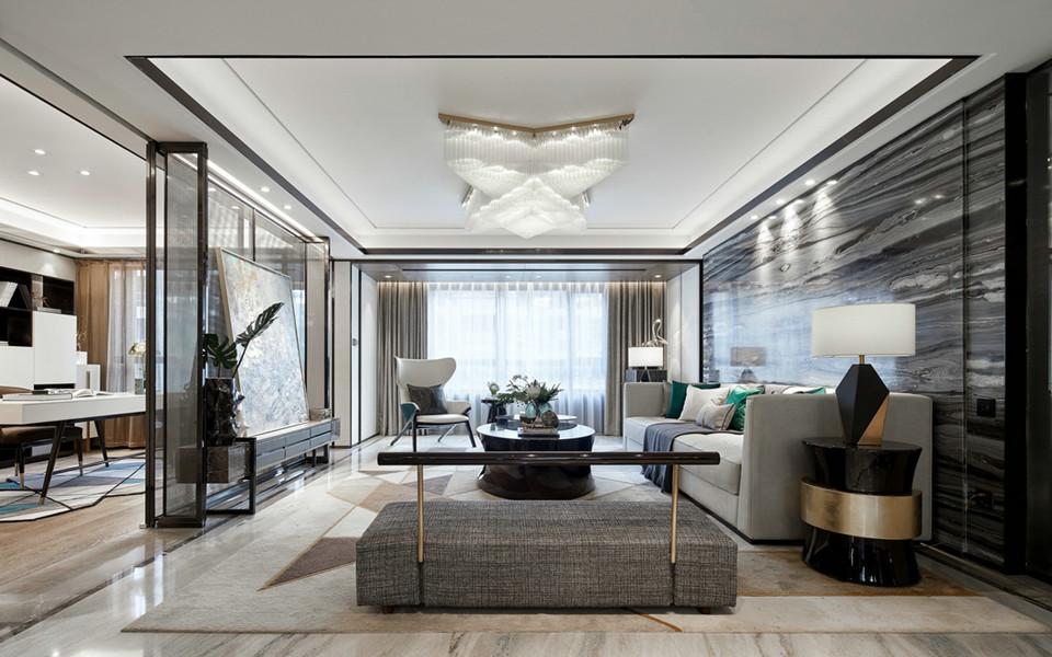 南京装修案例88平简约风格两居室装修效果图