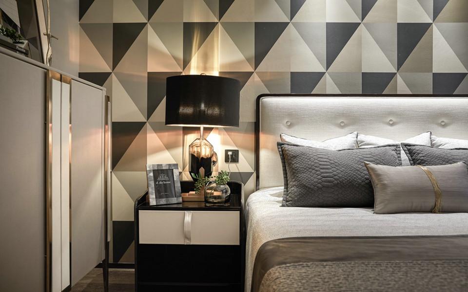 88平简约风格两居室装修效果图