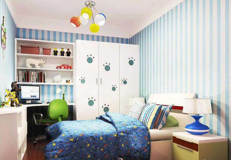 儿童房装修如何选择壁纸