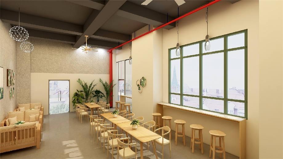 石家庄装修设计师咖啡厅