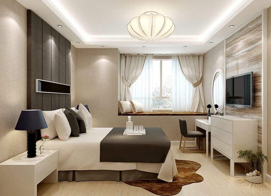 西安东兴豪庭装饰分享卧室的飘窗设计技巧及注意事项