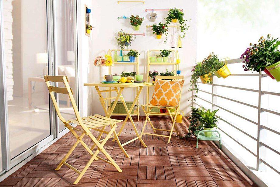 西安东兴豪庭装饰分享室内阳台花园装修技巧