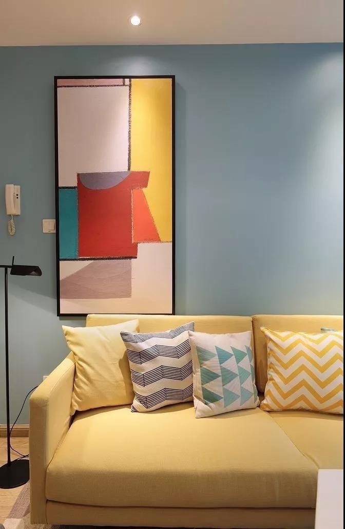 西安装修案例简约两室小而温馨