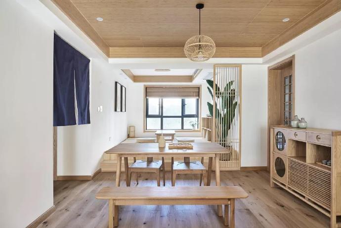 日化小区93平米日式风格