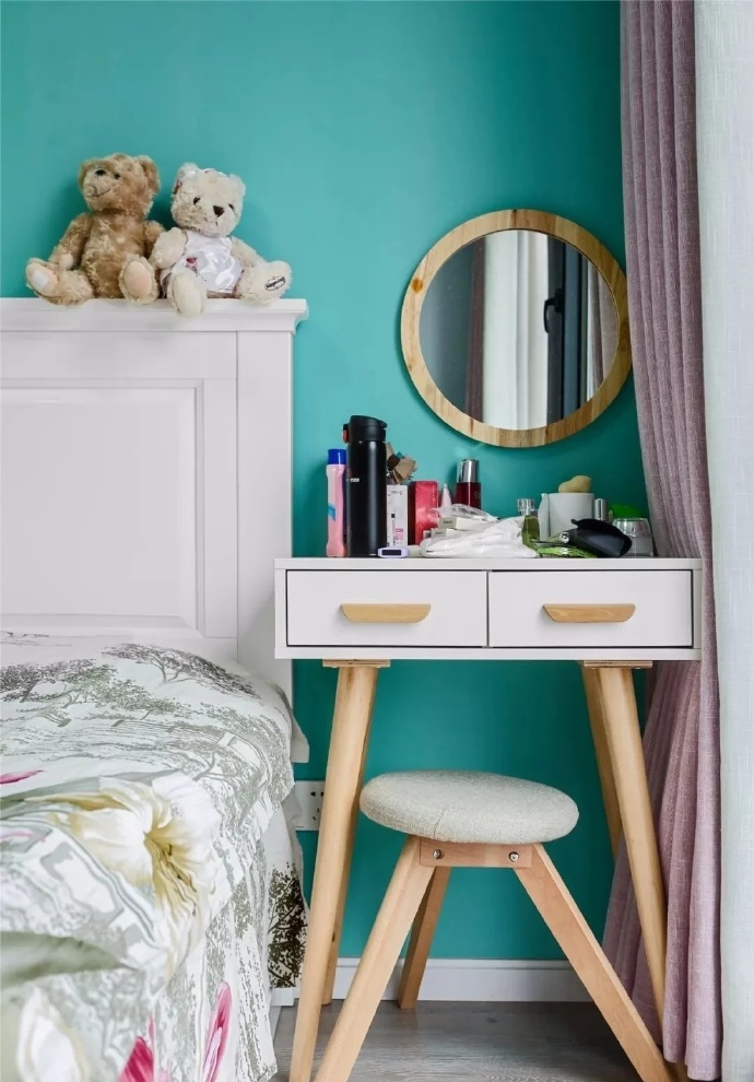 西安装修案例72㎡简约北欧风,清新舒适的小家 