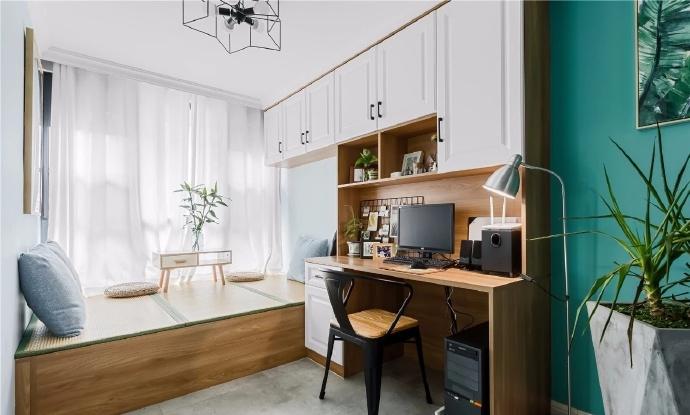 72㎡简约北欧风,清新舒适的小家 