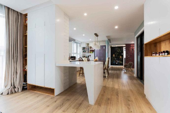 西安装修案例简约北欧风两居室装修设计 ,有一种生活叫阳光。