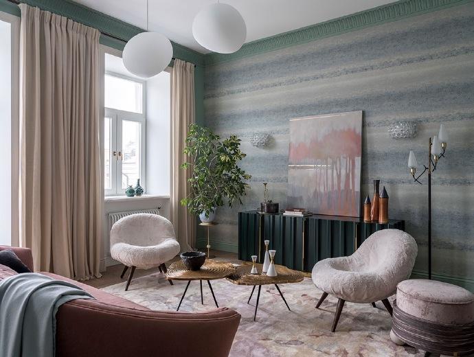 现代简约风三居室设计,美好舒适的明亮空间