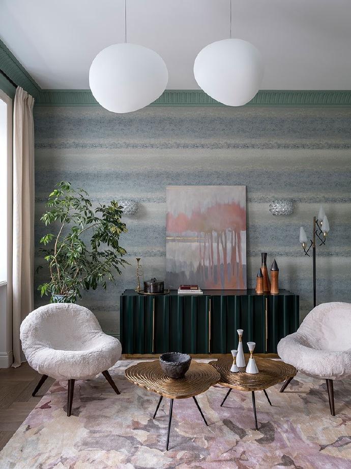 西安装修案例 现代简约风三居室设计,美好舒适的明亮空间