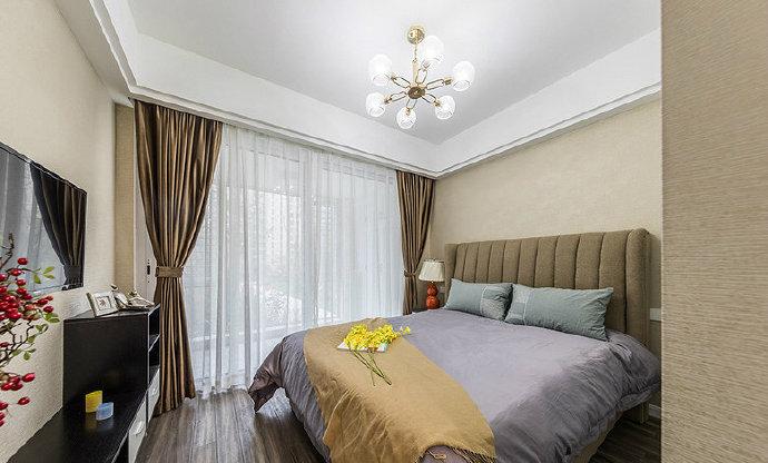 现代轻奢风三居室装修设计