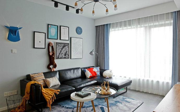 西安装修案例69㎡小清新北欧风家居设计