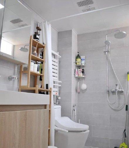 白色搭配原木色家具北欧风格装修效果的家