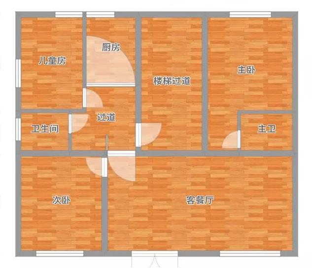曲江九里128平米简欧装修风格小区