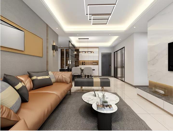 城市新苑98平米装修