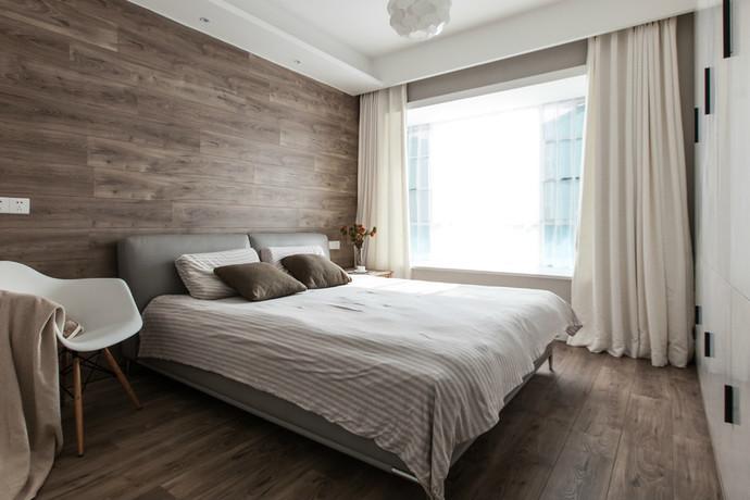 西安装修案例晶城秀府74平米简约装修风格、