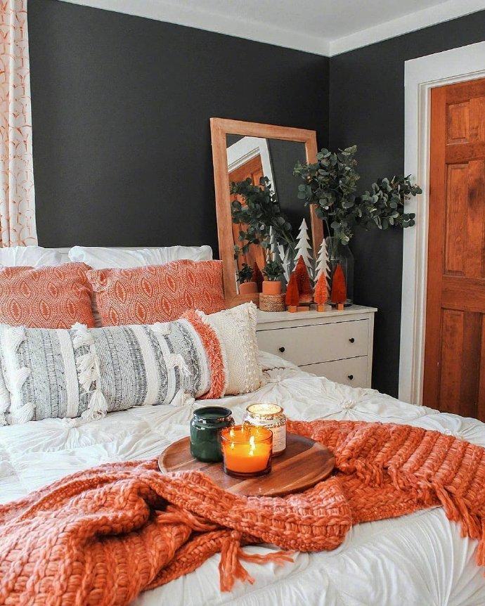用温暖的色调,打造温馨的家
