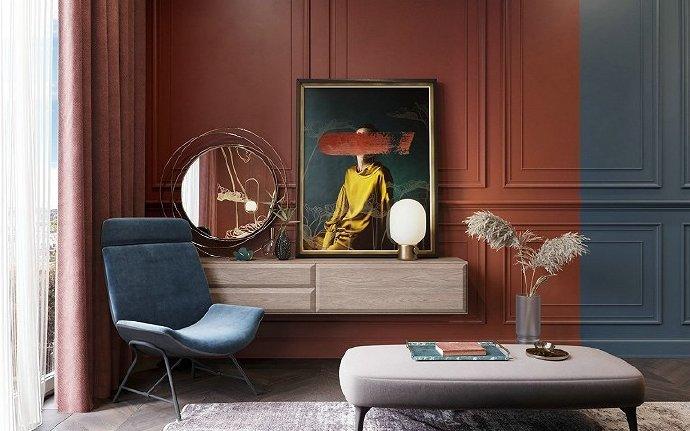 色彩艺术,现代前卫风设计!