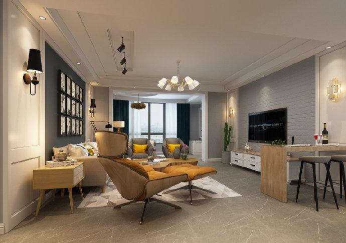 现代简约风格装修,每一个家都是一个新的世界