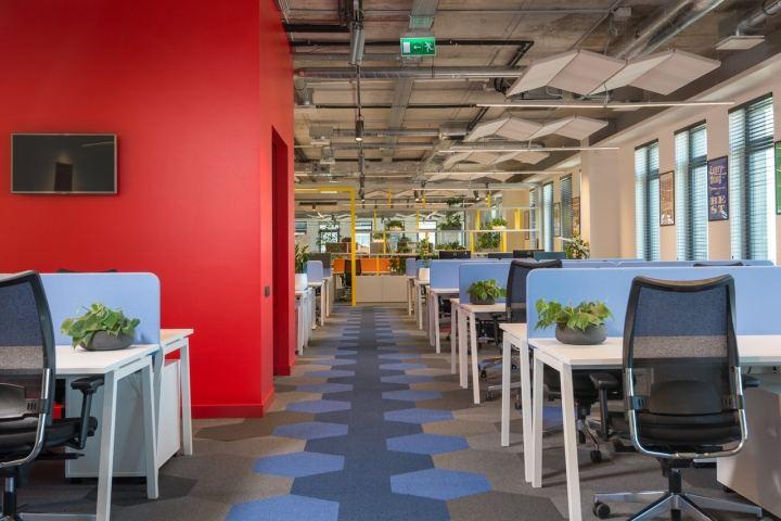 深圳寫字樓裝修公司辦公裝修設計像一首散文詩