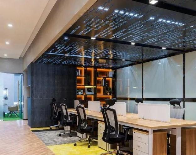 深圳辦公室裝修公司現代藝術風格的辦公室裝修設計