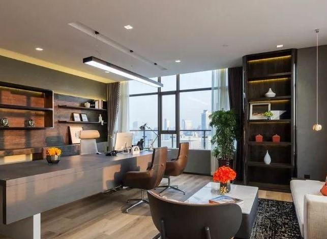 深圳辦公室裝修辦公室中運用工業元素的設計
