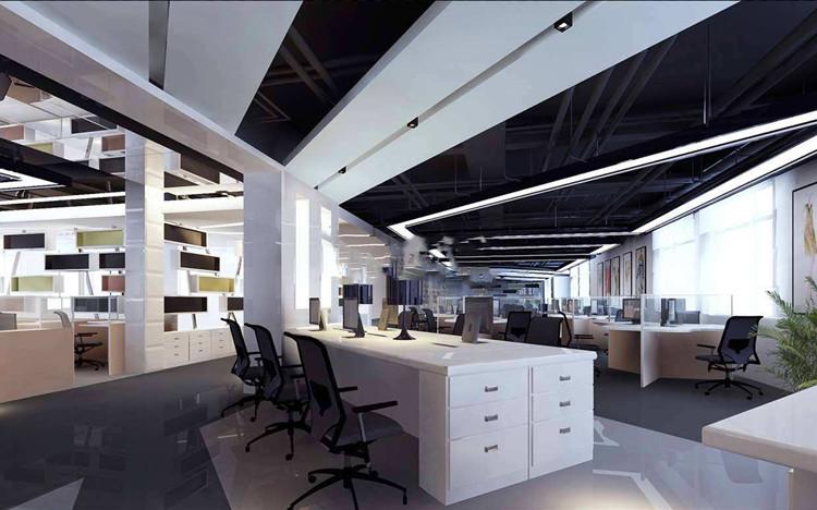 深圳辦公室裝修之擺掛藝術品的空間設計思路