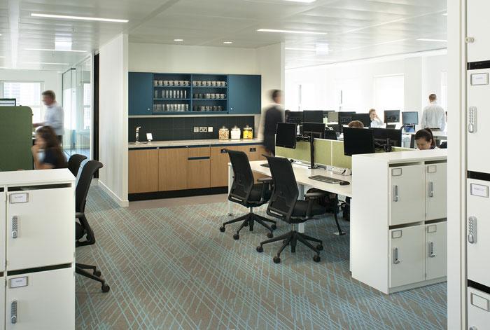 深圳辦公室裝修設計之前臺和隔斷風水學上的注意事項