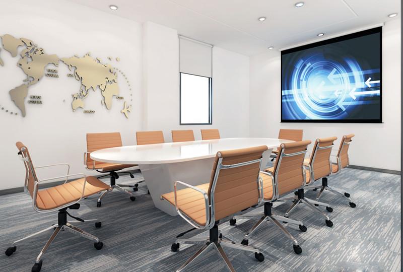 背陰的深圳辦公室裝修最好采用暖色風格!