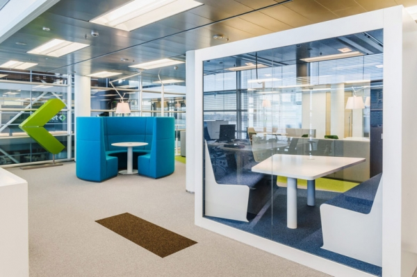 深圳辦公室裝修設計不同風格裝飾的搭配思路解析