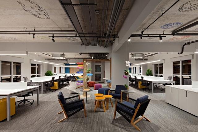高大尚的深圳辦公室裝修設計的一些要點解析