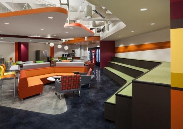 羅湖辦公室裝修設計地板顏色與墻面搭配心得解析
