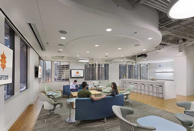 羅湖辦公室裝修的時候選擇淺色家具風格的注意事項
