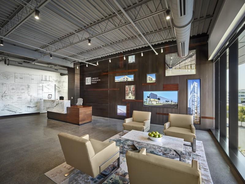 小面積的深圳辦公室裝修設計最大的特點解析