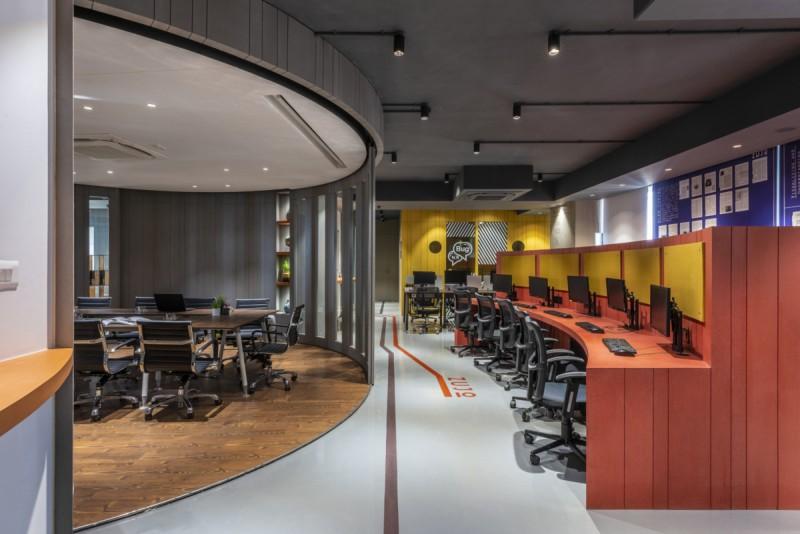 寶安辦公室裝修設計使用壁紙的搭配顏色的注意事項!