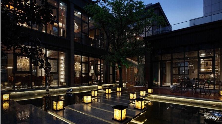 高级咖啡厅装修设计170方