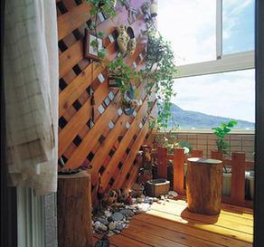 阳台设计,空间再造闹市中的舞台