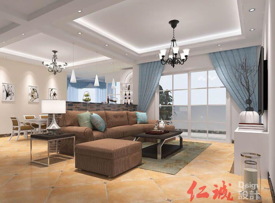 深圳装修案例福永鸿德园6B栋 240方半包9.74万简约