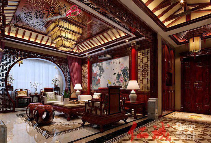 深圳装修案例中式风格案例展示