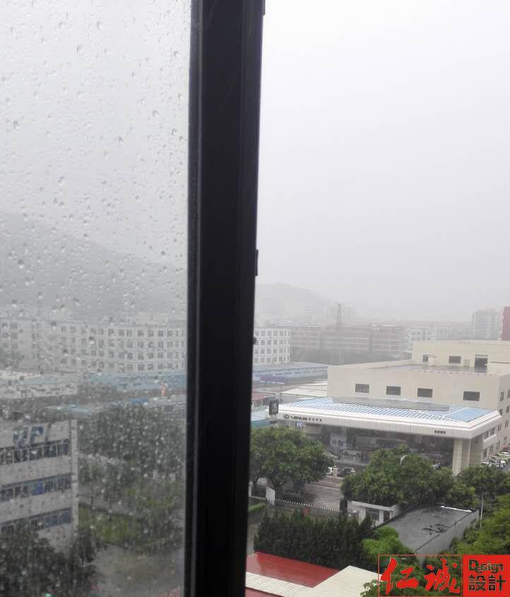 【深圳仁诚装饰】降雨云系正从海上飘来深圳 全市均受降雨影响