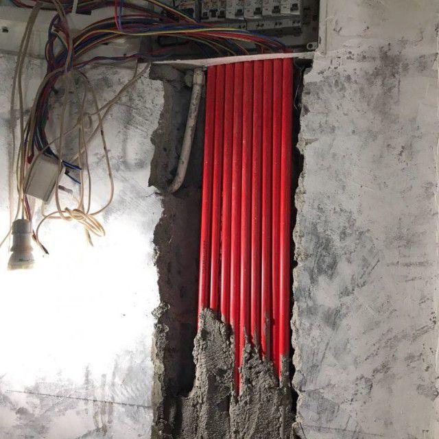 朗景园F栋--蔡蔡的美居(水电防水施工以及水电验收阶段)-深圳仁诚装修网